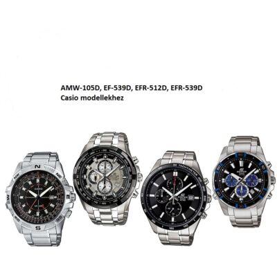 EFR-539D, AMW-105D, EF-539D, EFR-512D Casio fémszíj