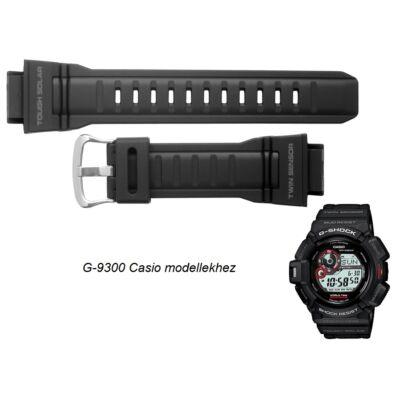 G-9300 Casio fekete műanyag szíj