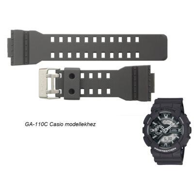 GA-110C-1A Casio fekete műanyag szíj