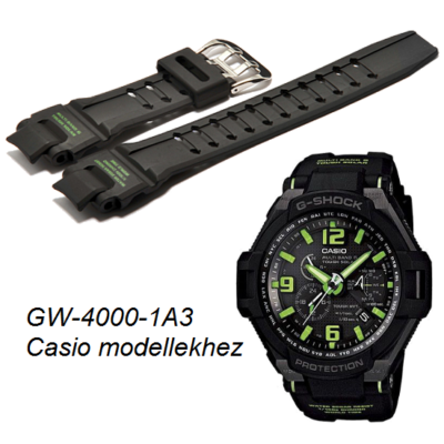 GW-4000-1A3 Casio kék műanyag szíj