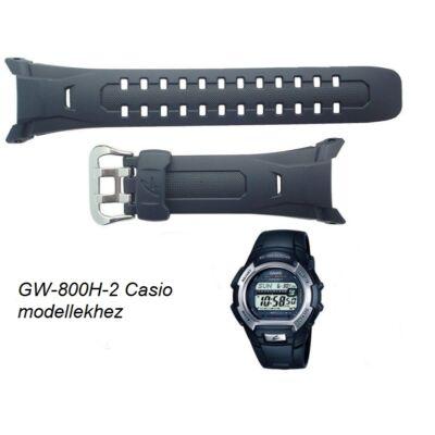 GW-800H-2 Casio kék műanyag szíj