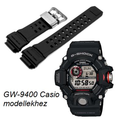 GW-9400 Casio fekete műanyag szíj