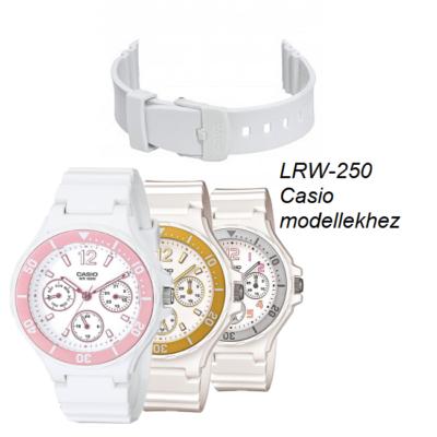 LRW-250 Casio fehér szíj