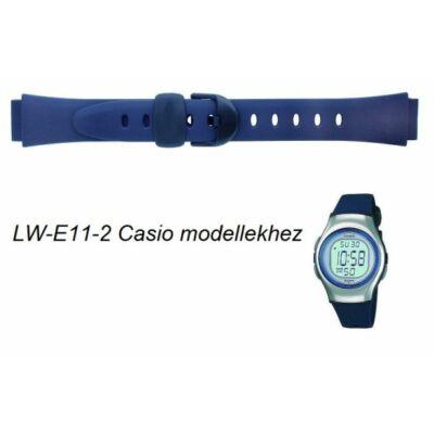 LW-E11-2 Casio kék műanyag szíj