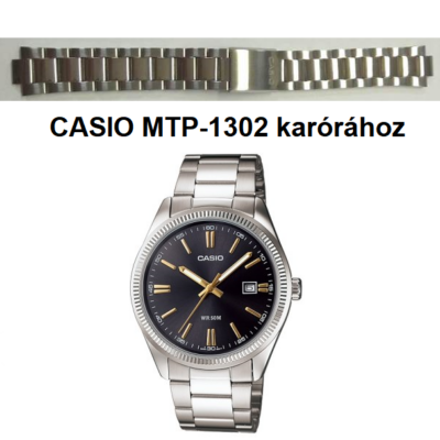 MTP-1302D Casio fémszíj