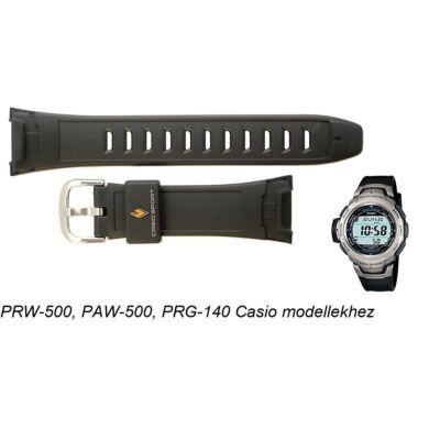 PRW-500-1, PAW-500, PRG-140 Casio fekete műanyag szíj