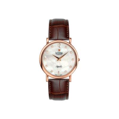 Le Temps Női karóra, Zafira Swarovski Slim LT1085.55BL52