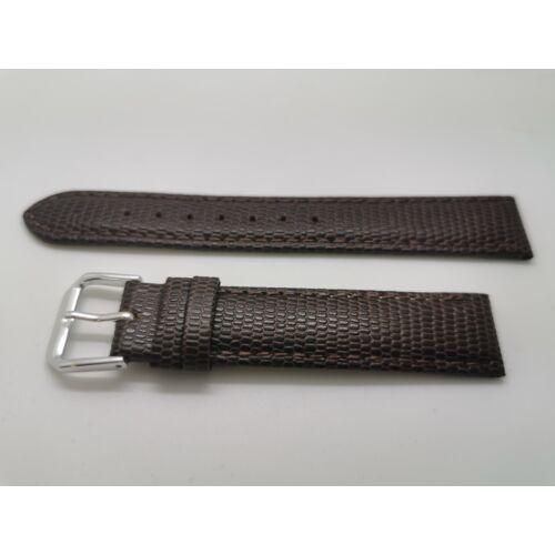 SZ2210 17mm barna színű valódi  bőrszíj Páratlan méret - rkt
