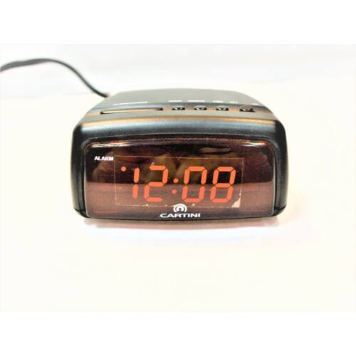 1222 Cartini LED-es ébresztőóra - rkt