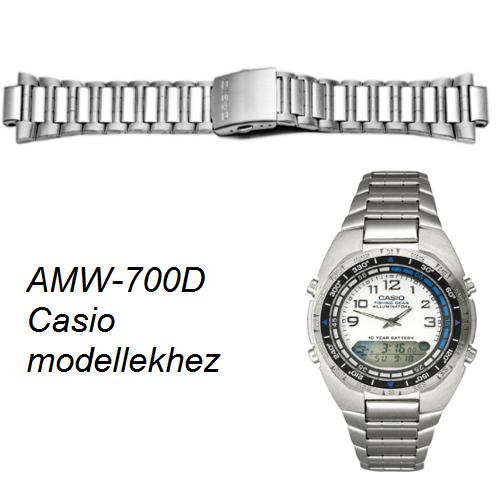 AMW-700D Casio fémszíj