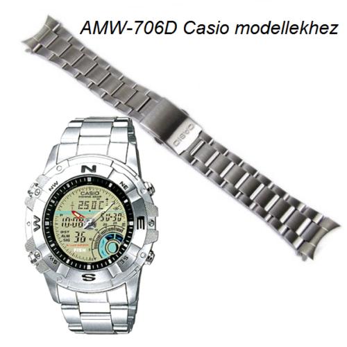 AMW-706D Casio fémszíj