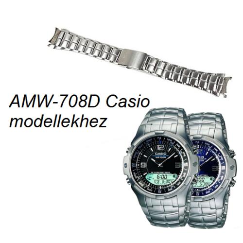 AMW-708D Casio fémszíj