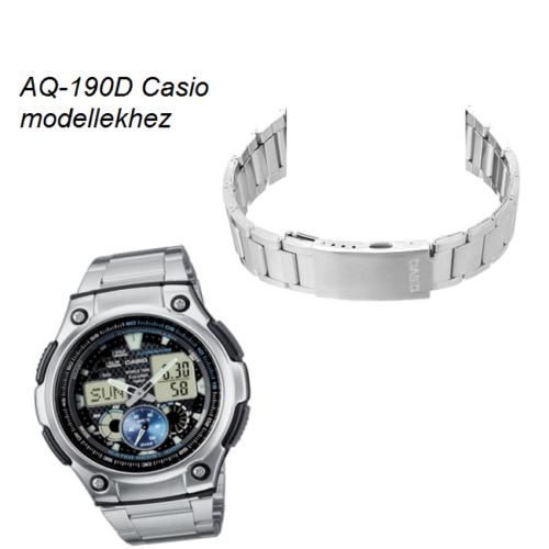 AQ-190D Casio fémszíj