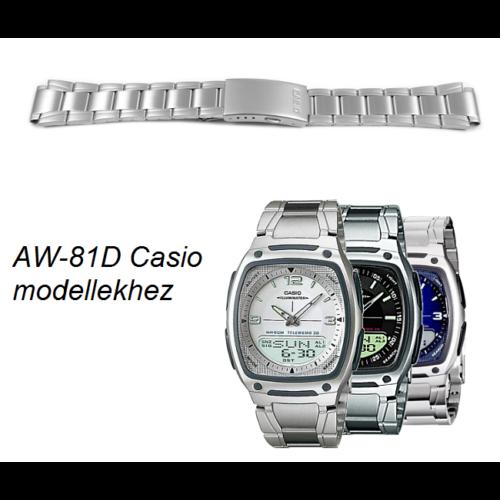 AW-81D Casio fém óraszíj