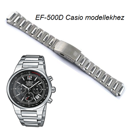 EF-500D Casio fémszíj