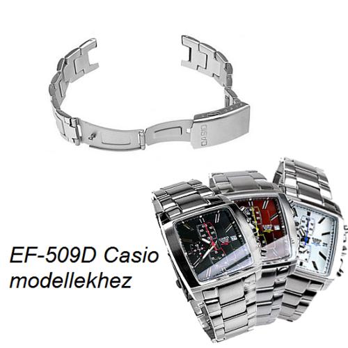 EF-509D Casio fémszíj