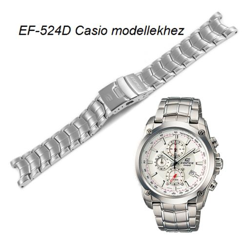 EF-524D Casio fémszíj