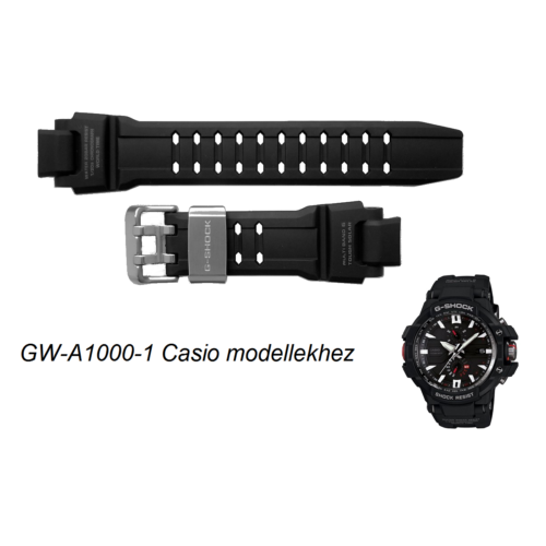 GW-A1000-1 Casio fekete műanyag szíj
