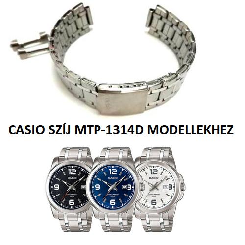 MTP-1314D Casio fémszíj