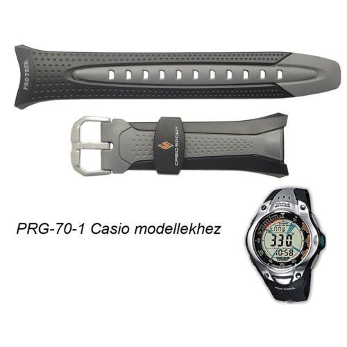 PRG-70-1 Casio fekete műanyag szíj