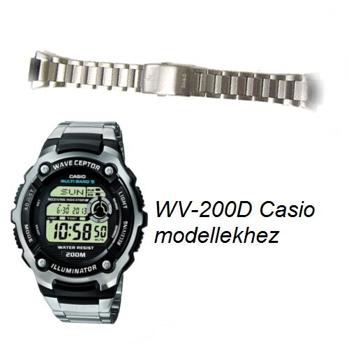 WV-200D Casio fémszíj