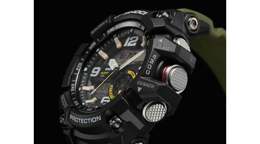 GG-1000-1A3 Casio G-Shock Mudmaster Prémium Férfi karóra 5ef5c696fe