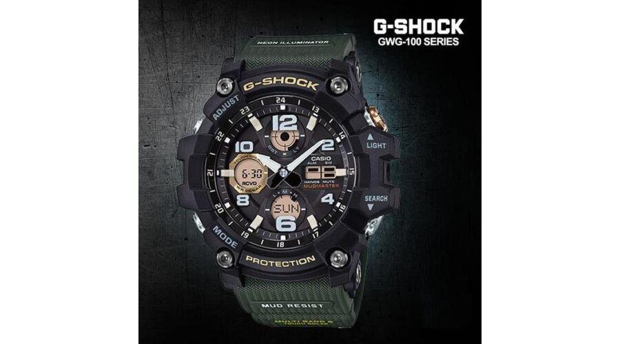 GWG-100-1A3 Casio G-Shock MUDMASTER Prémium Férfi karóra 317da5f261